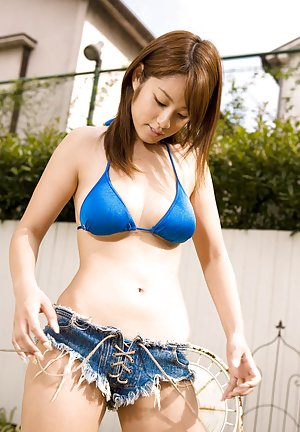 Asian in Jeans Pics