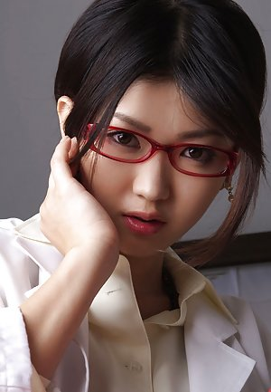 Asian in Glasses Pics